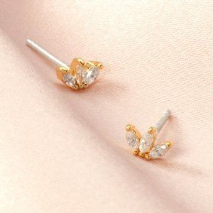 Delicate Marquise Studs by Stella & Dot